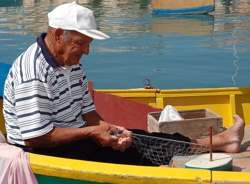 Fischer auf Malta