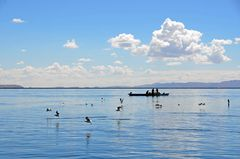 Fischer bei ihrer Arbeit auf dem Titicacasee (1)