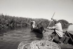 Fischer im Delta