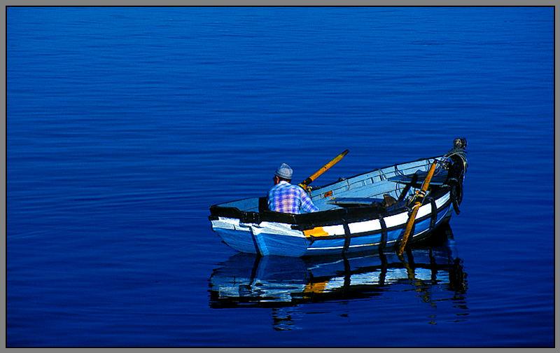 Fischer in Portimao/Algarve