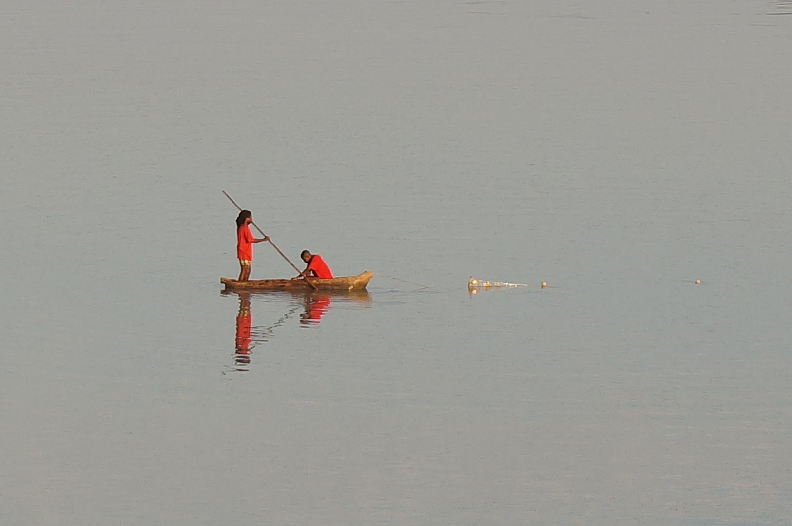 Fischer in Sambia