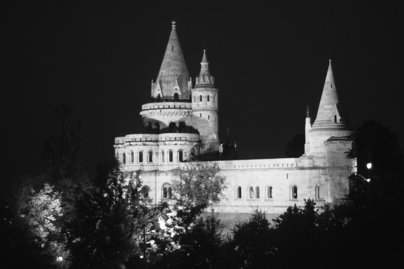 Fischerbastei - Budapest (s/w)