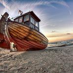 Fischerboot auf Usedom (2017)