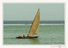Fischerboot auf Zanzibar (#01)