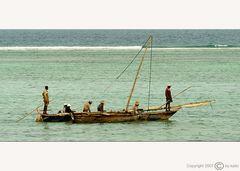 Fischerboot auf Zanzibar (#02)