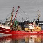 Fischerboot bei Büsum