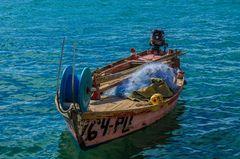 Fischerboot bei Fazana