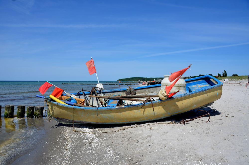 Fischerboot Helmut Gau
