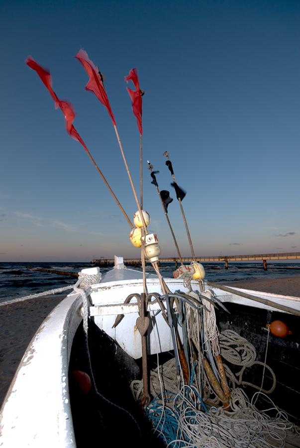 Fischerboot in Koserow 2
