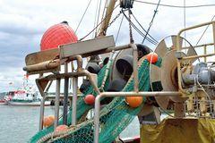 Fischerboot in Maasholm an der Schlei
