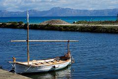 Fischerboot in Playa de Muro