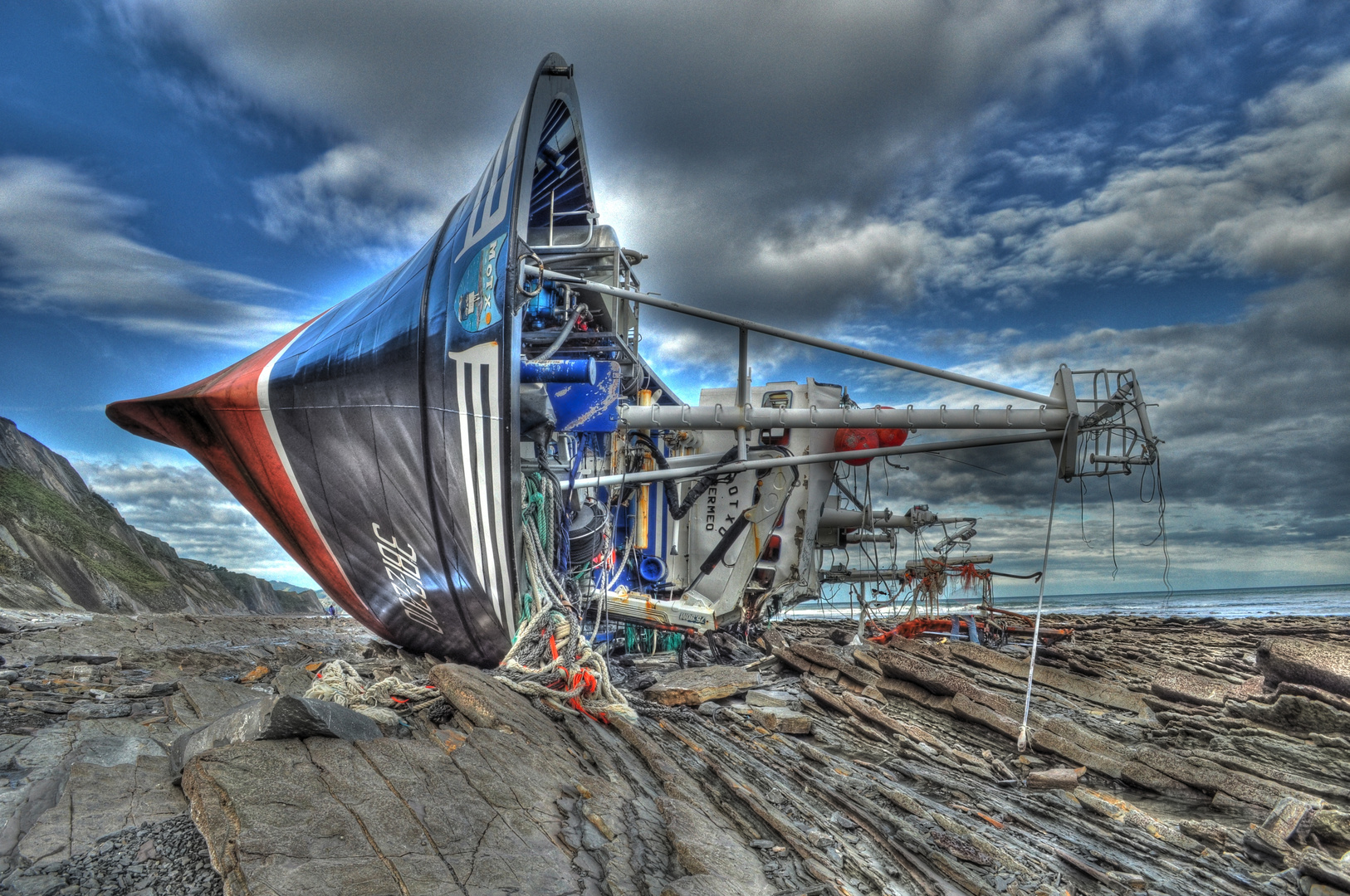 Fischerboot Motxo