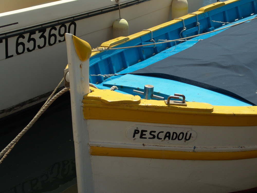 Fischerboot St. Tropez