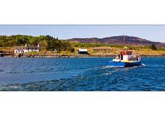 Fischerboot vor Mull