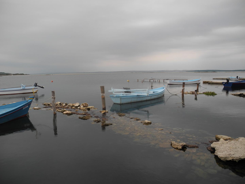 Fischerboote an kroatischer Küste