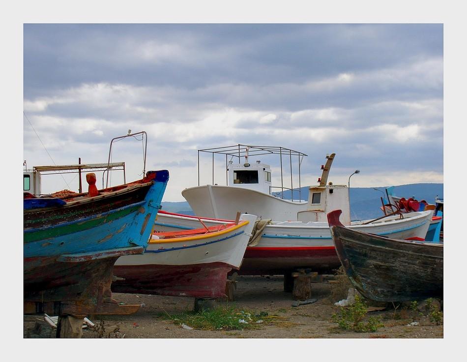Fischerboote....