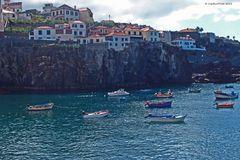 Fischerboote im Hafen von Camara de Lobos