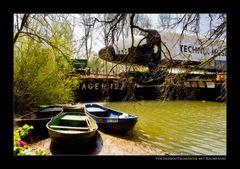 Fischerbootromantik mit Raumfähre
