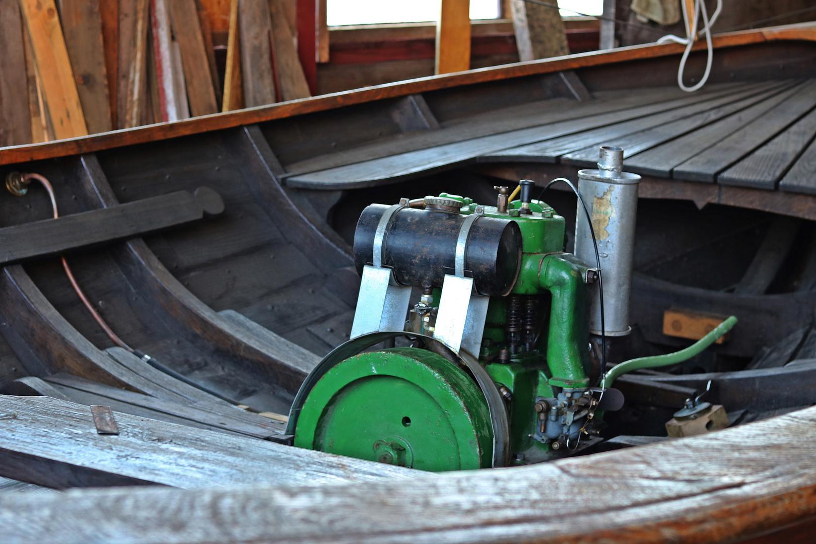 Fischerbootsmotor