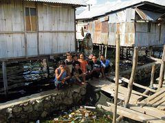 Fischerdorf bei Maumere/ Flores/ Indonesia
