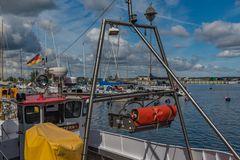 Fischereihafen Gager auf der Insel Rügen