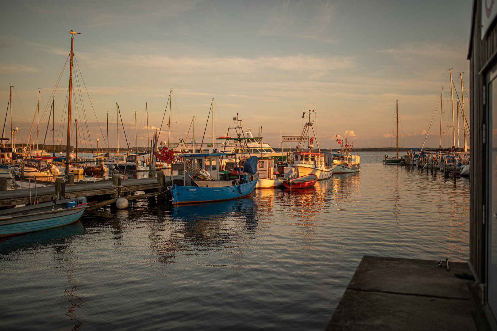 Fischereihafen Rerik