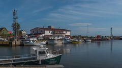 Fischereihafen und Ausgangspunkt für Whalewatching L'Anse-à-Beaufils