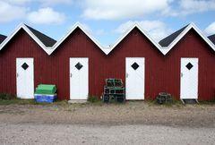 Fischerhäuser in Bork/Ringköbingfjord