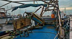 Fischerhafen in Chioggia