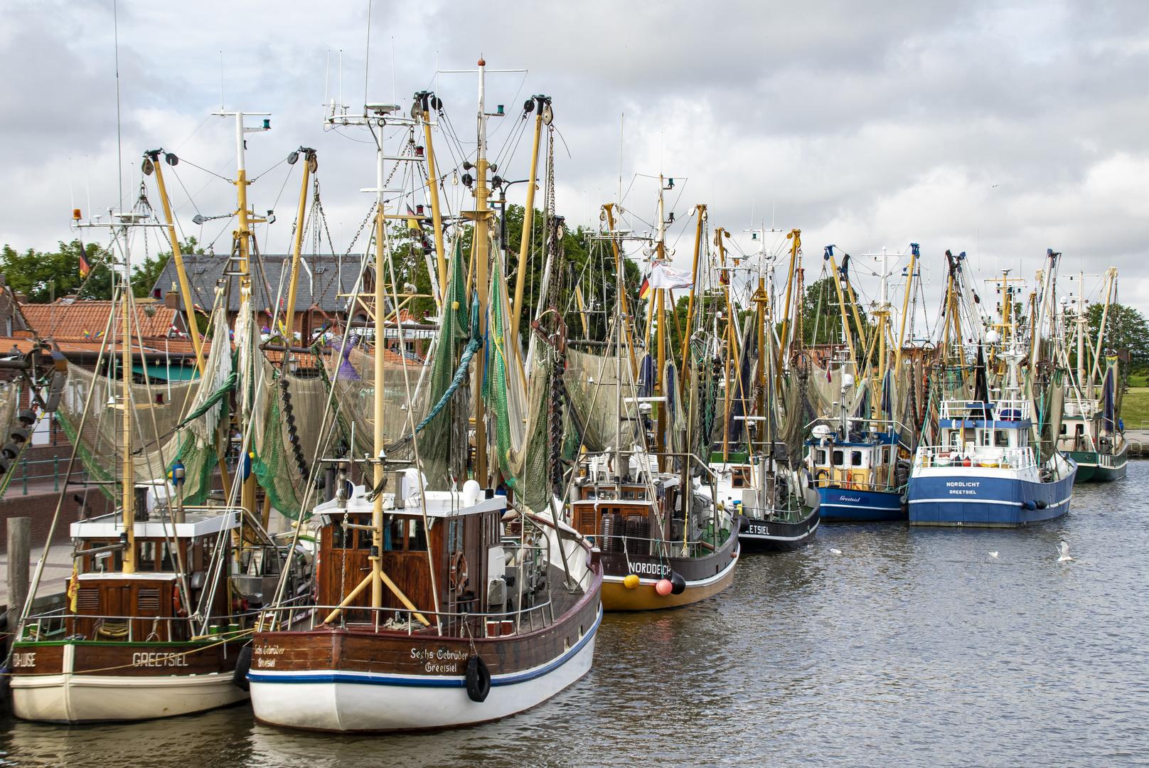Fischerhafen in Greetsiehl