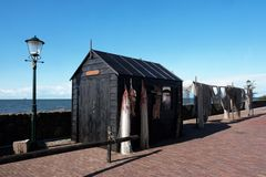 Fischerhütte am Ijsselmeer