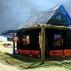 Fischerhütte in Cabo Polonio