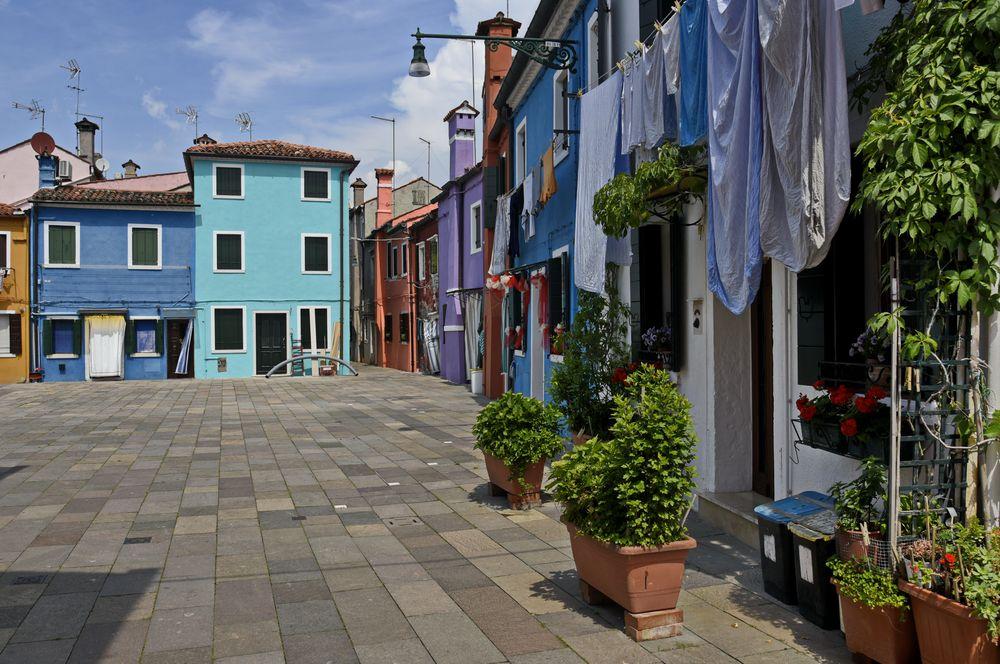 Fischerinsel Burano _ Venezia _