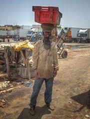 Fischermann in St Louis Senegal