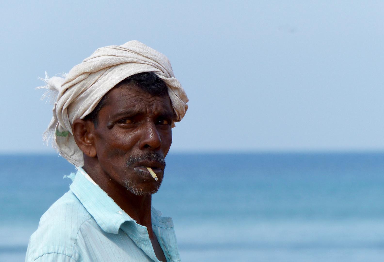 Fischermann von Kerala