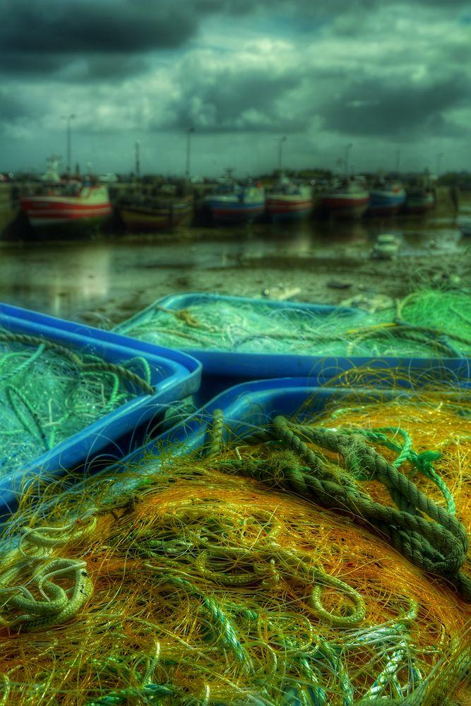 Fischernetze warten auf Ihre Fischkutter!