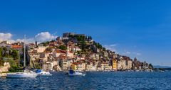 Fischerviertel Dolac, Sibenik, Dalmatien, Kroatien