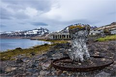 Fischfabrik in den Westfjorden...