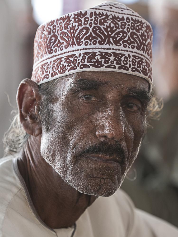 Fischhändler im Oman