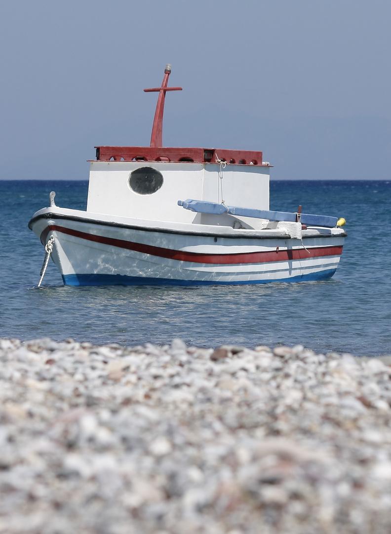 Fischkutter auf der Insel Kos in Kefalos