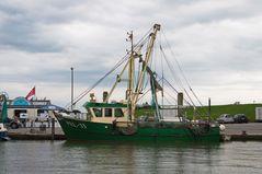 Fischkutter im Hafen Pellworm