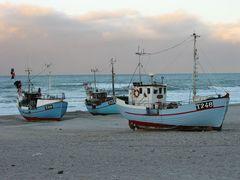 Fischkutter ohne Hafen