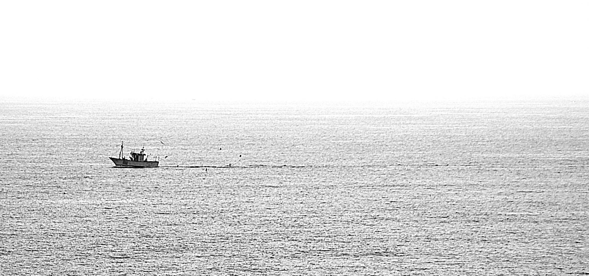 Fischkutter vor Conil
