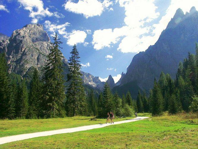 Fischleintal (Dolomiten Italien)