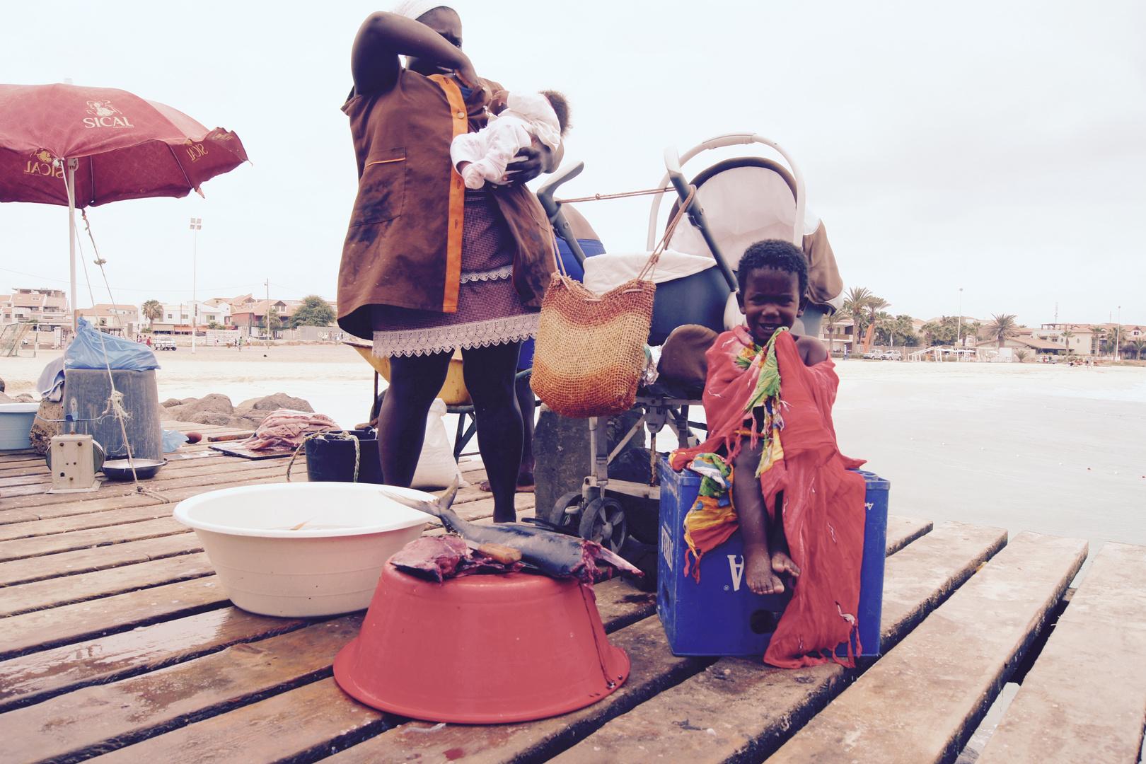 Fischmarkt Kap Verde