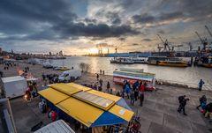 Fischmarkt -Sonnenaufgang