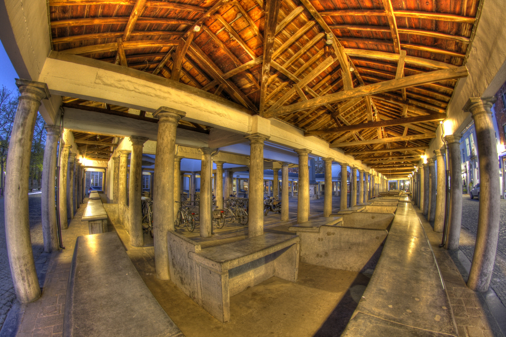 Fischmarkthalle in Brügge