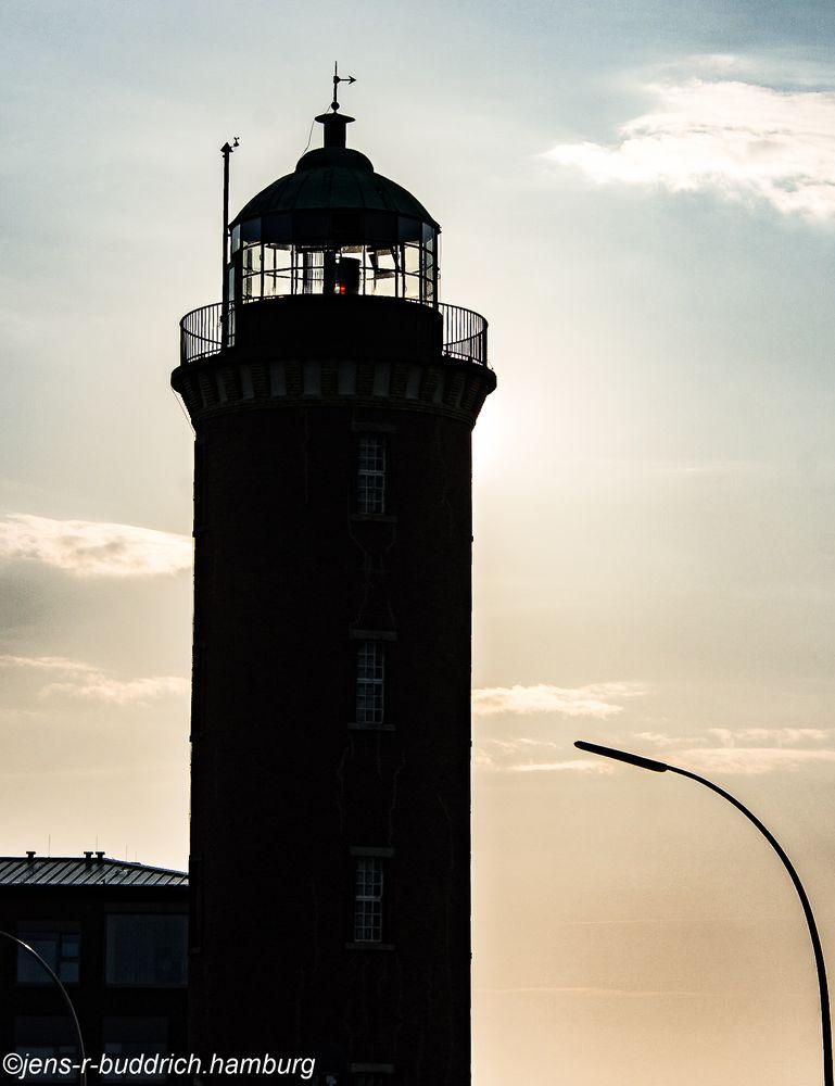Fischtown sein Lichthaus , mit Nachtbeleuchtung