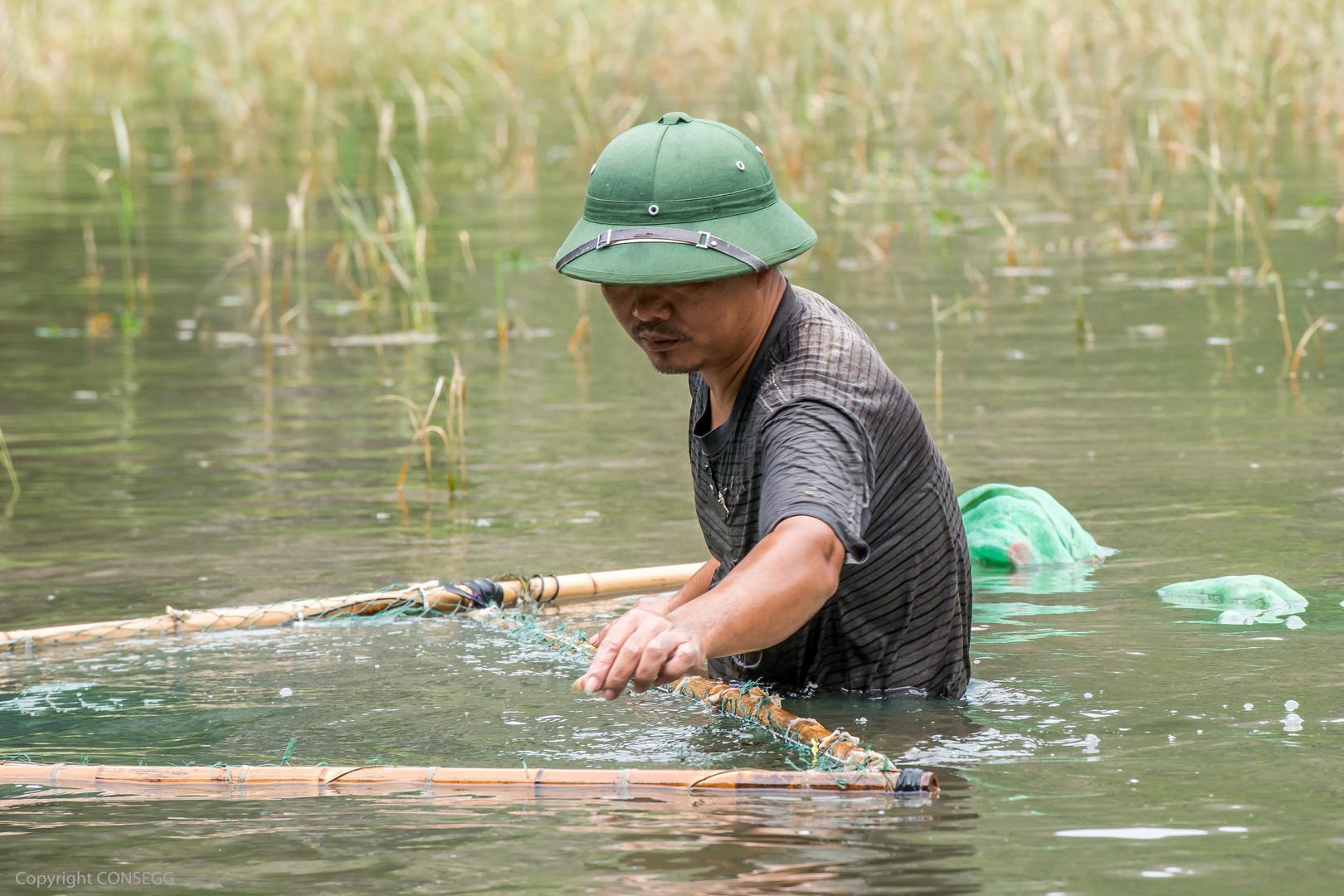 Fischzucht in Vietnam