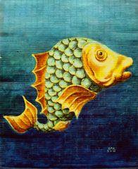 Fish II - finished side B
